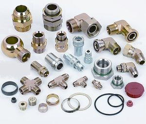 Image result for Hydraulic fittings